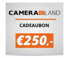 Cadeaubon t.w.v. €250,-