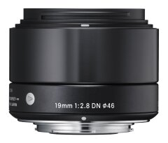 Sigma 19mm f/2.8 DN Art Sony E - Zwart