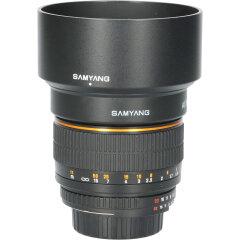 Tweedehands Samyang AE 85mm f/1.4 AS IF UMC voor Nikon CM2554
