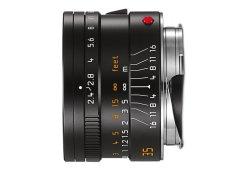 Leica Summarit-M 35mm f/2.4 Asph - Zwart