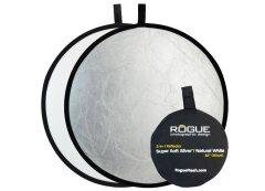 Rogue Reflector 80cm 2-in-1 Zilver/Wit opvouwbaar