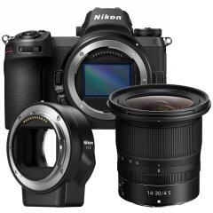 Nikon Z6 + 14-30mm f/4 S + FTZ Adapter Kit