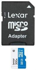 Lexar High Speed Micro SDHC 300x 45mb/s - 32GB