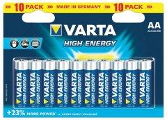 Varta High Energy AA-batterijen - 10 stuks