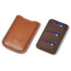 Leica SD en Credit Card Holder Leer - Cognac