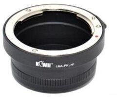 Kiwi Lens Mount Adapter (Pentax K naar Nikon 1)