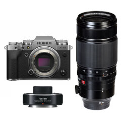 Fujifilm X-T4 Zilver + XF 50-140mm + XF 1.4X Teleconverter