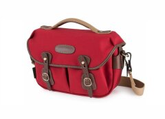 Billingham Hadley Small Pro - Burgundy/Chocolate Canvas