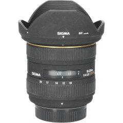 Tweedehands Sigma 10-20mm f/4.0-5.6 EX DC HSM Nikon-AFD CM2517