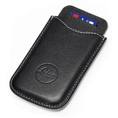 Leica SD en Credit Card Holder Leer - Zwart