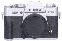 Tweedehands Fujifilm FinePix X-T20 Body Zilver Sn.:CM4773