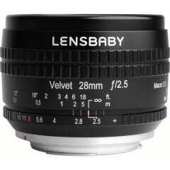 Lensbaby Velvet 28 Fuji X