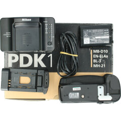 Tweedehands Nikon PDK-1 Powerdrive kit (MB-D10+MH 21+EN-EL4A+BL-3) CM9201