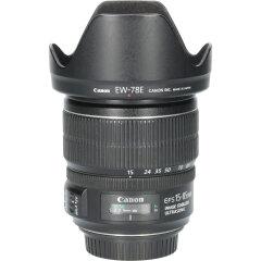 Tweedehands Canon EF-S 15-85mm f/3.5-5.6 IS USM CM3712