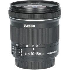 Tweedehands Canon EF-S 10-18mm f/4.5-5.6 IS STM CM5111