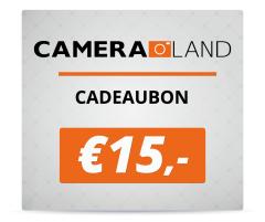 Cadeaubon t.w.v. €15,-