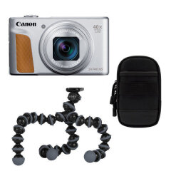Canon Powershot SX740 HS Silver Travel kit