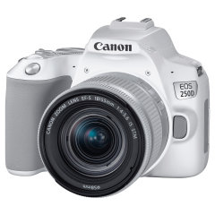 Canon EOS 250D Wit + 18-55mm IS STM