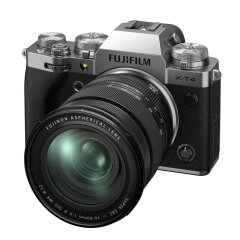 Fujifilm X-T4 Zilver + XF 16-80mm
