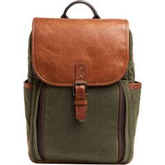 ONA Monterey Backpack Olive / Antique Cognac