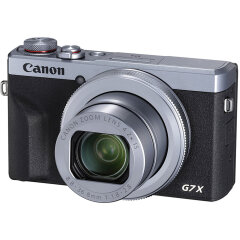 Canon PowerShot G7X Mark III Zilver