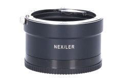 Tweedehands Novoflex Adapter Sony E-mount camera naar Leica R objectief Sn.:CM6397