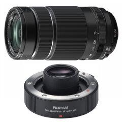 Fujifilm XF 70-300mm f/4-5.6 R LM OIS WR + XF 1.4X TC WR Teleconverter