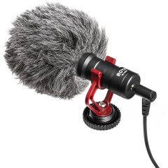 Boya BY-MM1 Shotgun Richtmicrofoon