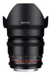 Samyang 16mm T2.2 ED AS UMC CS II VDSLR Nikon
