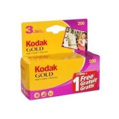 Kodak Gold 200 GB 135-36 3pack