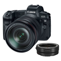 Canon EOS R + RF 24-105mm + EF-RF Adapter