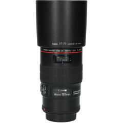 Tweedehands Canon EF 100mm f/2.8L IS Macro USM CM0124