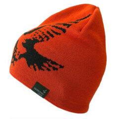 Swarovski Merino Beanie Hat - Oranje