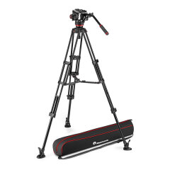 Manfrotto 504 & Alu Twin MS