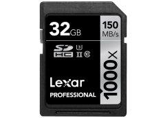 Lexar SDHC Professional 32GB 1000x UHS-II