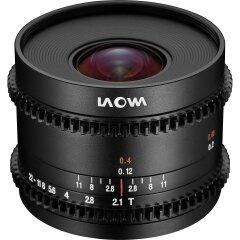 Laowa Venus 7.5mm t/2.1 MFT Cine lens - MFT