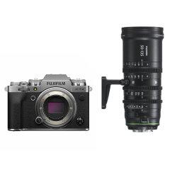 Fujifilm X-T4 Zilver + MKX 50-135mm T2.9 Cine