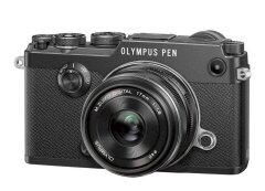 Olympus PEN-F Zwart + 17mm