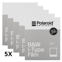 Polaroid Originals B&W instant film for I-type 5-pack