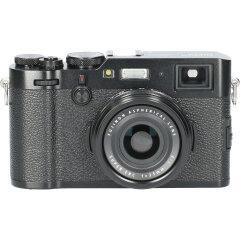 Tweedehands Fujifilm FinePix X100F Zwart CM3075