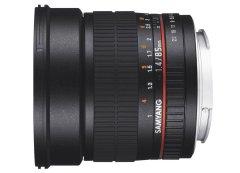 Samyang 85mm f/1.4 AS IF UMC Fuji X