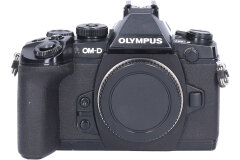 Tweedehands Olympus E-M1 Zwart - Body Sn.:CM7095
