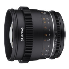 Samyang 85mm T1.5 MK2 Canon