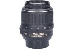 Tweedehands Nikon 18-55mm f/3.5-5.6 AF-S G DX VR Sn.:CM6968