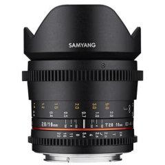 Samyang 16mm T2.6 ED AS UMC VDSLR Canon