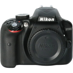 Tweedehands Nikon D3300 body zwart CM9932