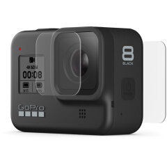 GoPro Tempered Glass Lens + Screen Protectors voor Hero 8