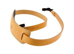 4V Design Classic Large Neck Strap Tuscany Leer  - Natural/Cyan