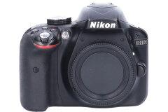 Tweedehands Nikon D3300 body zwart Sn.:CM5527
