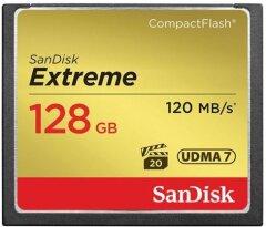 Sandisk CF 128GB Extreme 120MB/s 85MB write UDMA 7
